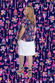 Neon Natives Smock Top - Lordy Dordie Art