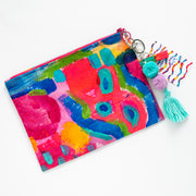 CORAL ILSE Canvas Art Clutch - #2 of 9 - Lordy Dordie Art