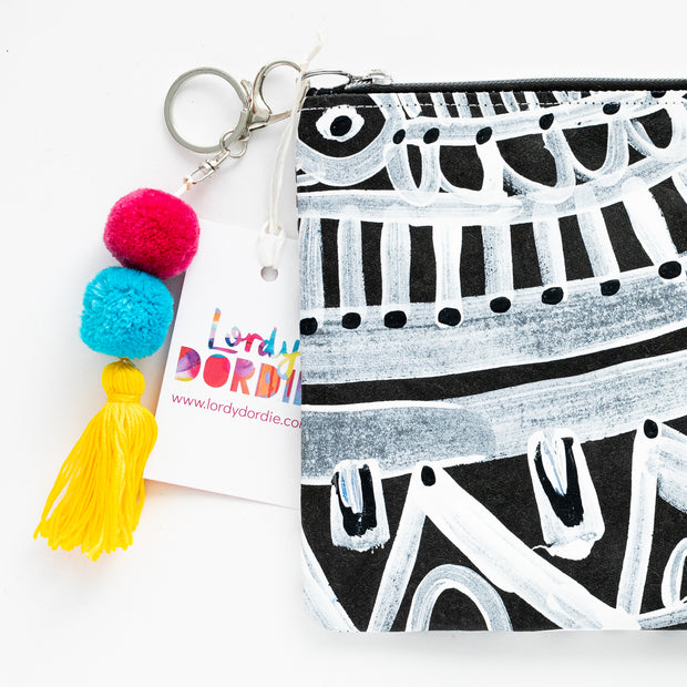 FLORETTE Art Clutch - #8 of 8 - Lordy Dordie Art
