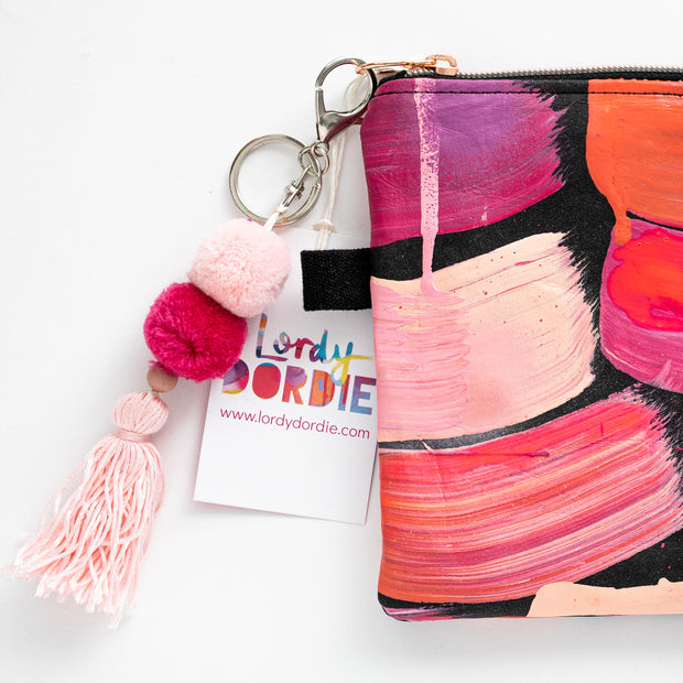 PINK SUNSET Art Clutch - #2 of 6 - lordydordie