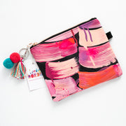 PINK SUNSET Art Clutch - #5 of 6 - Lordy Dordie Art