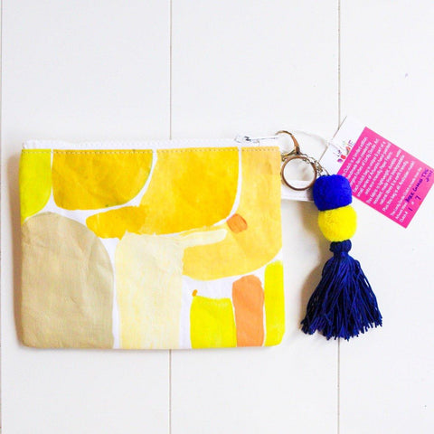 Medium HERE COMES THE SUN Art Clutch - #1 of 7 - lordydordie