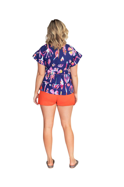 Neon Natives Smock Top
