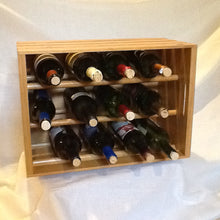 Load image into Gallery viewer, Wooden Crate Wine Rack