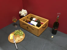 Load image into Gallery viewer, Wine Rack - Wooden 3 Bottle Horizontal