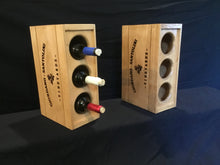 Load image into Gallery viewer, Wine Rack - 3 Bottle Vertical