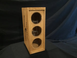 Wine Rack - 3 Bottle Vertical