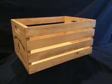 Load image into Gallery viewer, Wooden Wine Crate - Large