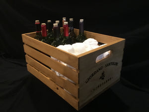 Wooden Wine Crate - Large