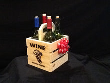 Load image into Gallery viewer, Wine Gift - Wooden Crate