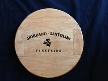 Load image into Gallery viewer, Lazy Susan - Wine Vineyard Logo