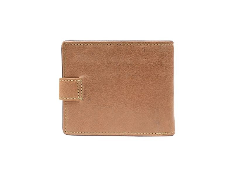Busby Leather Zulu Tabbed Billfold | Brown - KaryKase