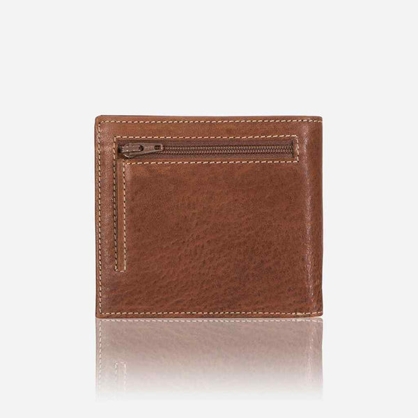 Brando Vintage RFID Billford Leather Wallet | Brown