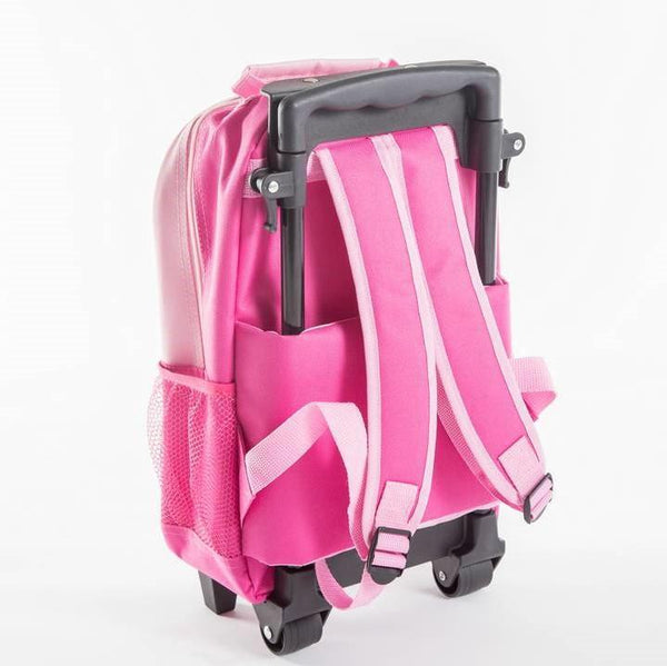 Yuppie Gift Baskets Kids Bunny School Trolley Case | Pink - KaryKase