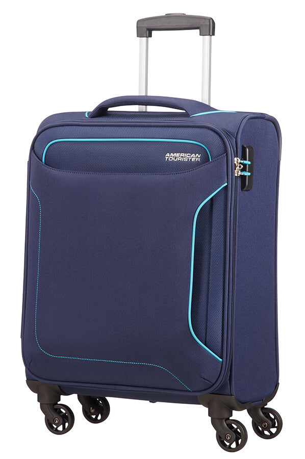 American Tourister Holiday Heat Spinner 55cm Cabin Spinner | Navy - KaryKase