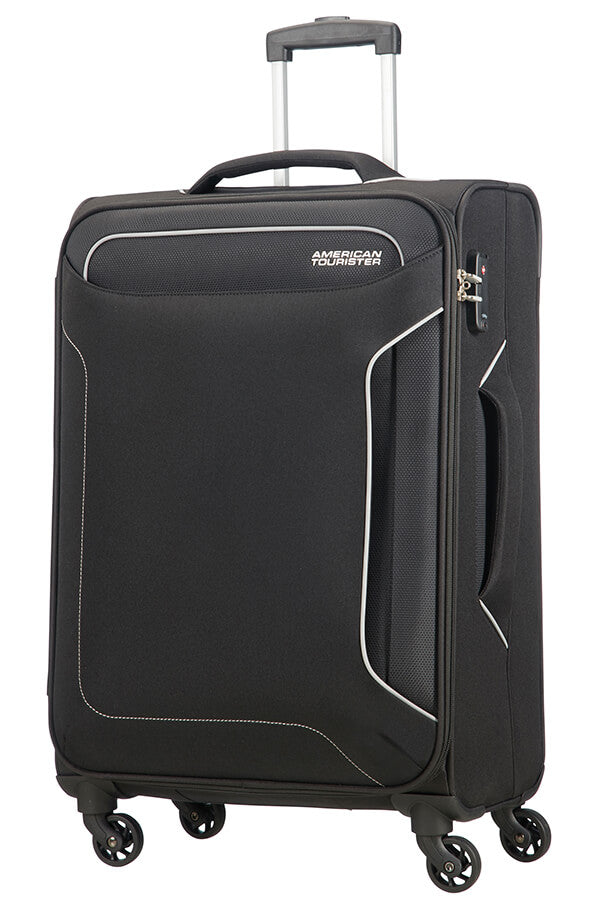 American Tourister Holiday Heat Spinner 67cm Medium Spinner | Black - KaryKase