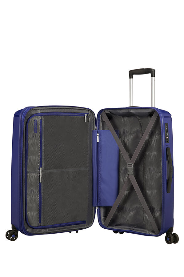 American Tourister Sunside 77cm Large Spinner - Expandable | Navy - KaryKase