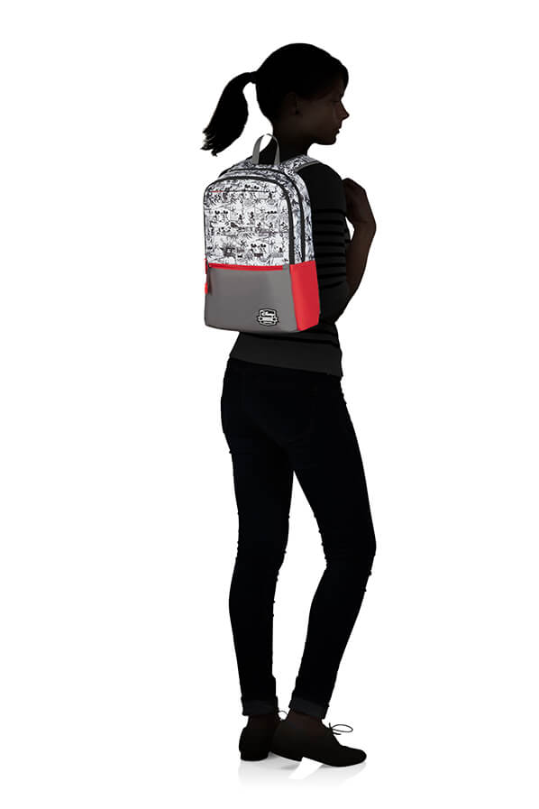 American Tourister Urban Groove Disney Backpack | Mickey Comics Red - KaryKase