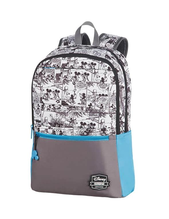 American Tourister Urban Groove Disney Backpack | Mickey Comics Blue - KaryKase