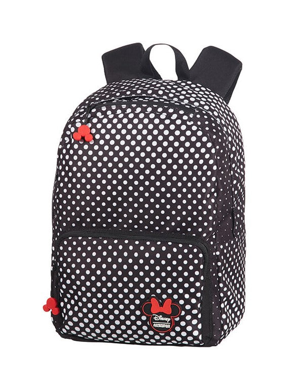 American Tourister Urban Groove Disney Backpack | Minnie Mouse Polka Dot - KaryKase
