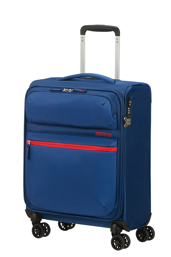 American Tourister Matchup 55cm Cabin Spinner | Neon Blue - KaryKase