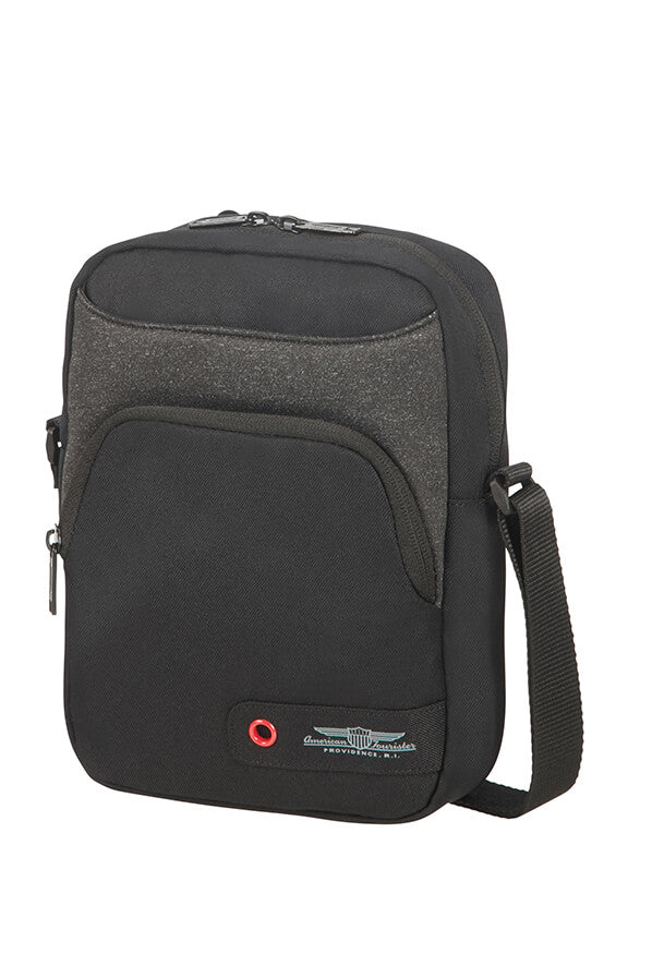 American Tourister City Aim Crossover Bag | Black - KaryKase