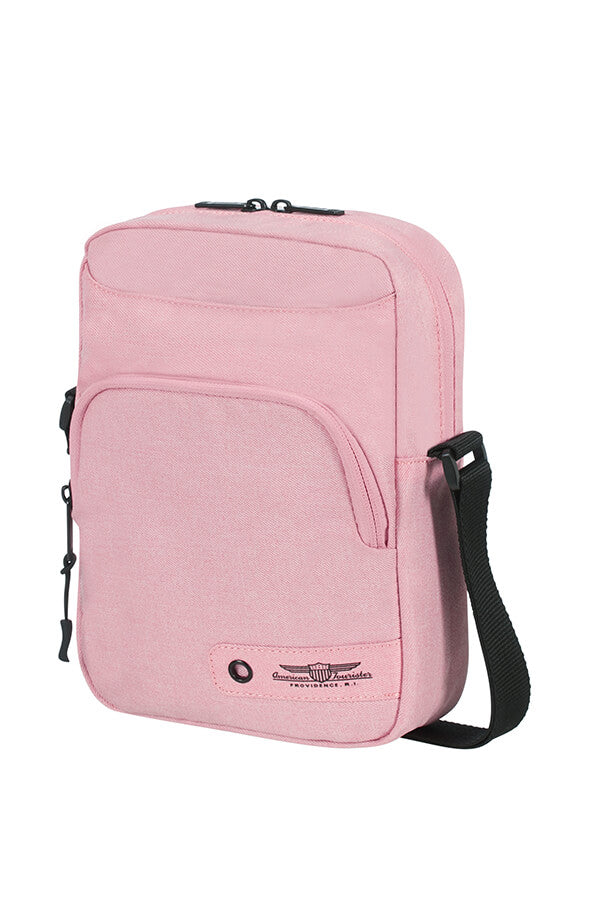 American Tourister City Aim Crossover Bag | Pink - KaryKase