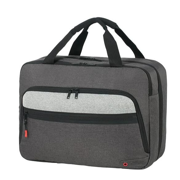 American Tourister City Aim 3 Way Boarding Bag | Anthracite Grey - KaryKase