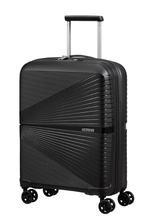 American Tourister Airconic 55cm Cabin Spinner | Onyx Black - KaryKase