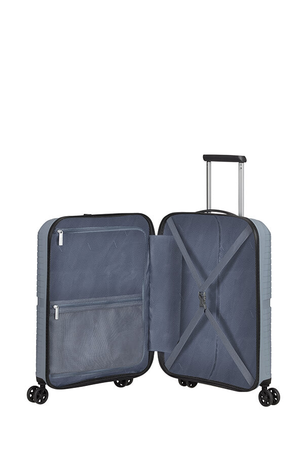 American Tourister Airconic 55cm Cabin Spinner | Cool Grey - KaryKase