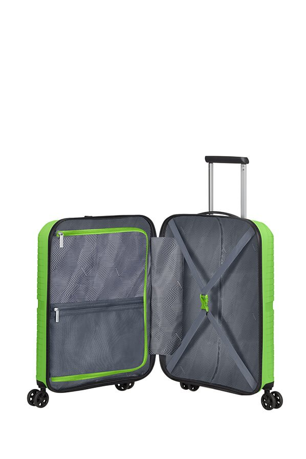 American Tourister Airconic 55cm Cabin Spinner | Acid Green - KaryKase