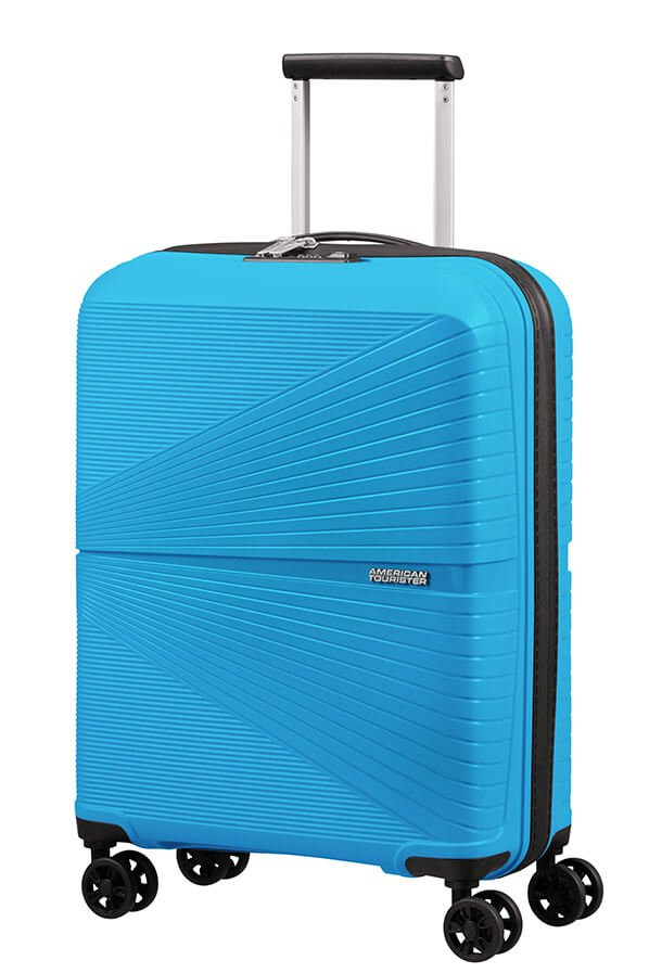 American Tourister Airconic 55cm Cabin Spinner | Sporty Blue - KaryKase
