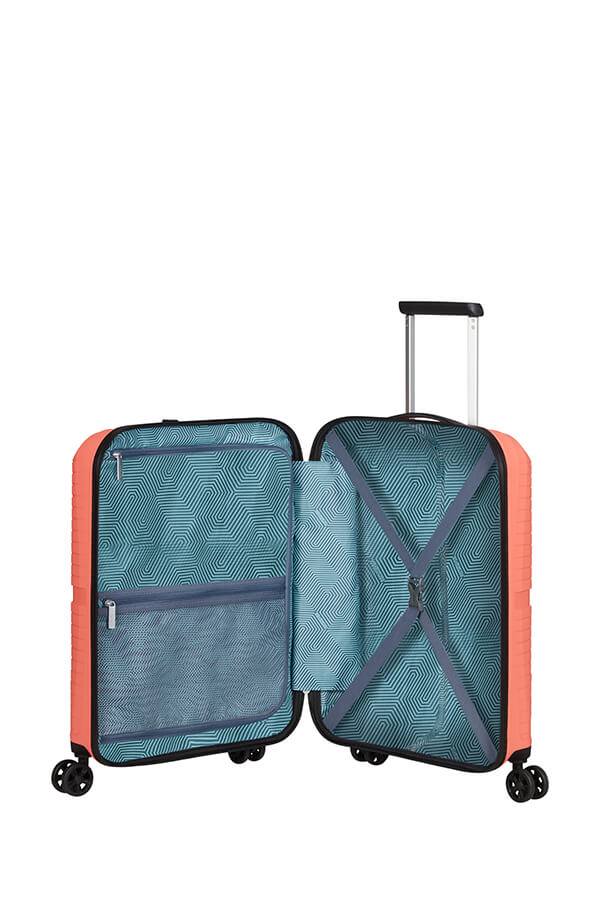 American Tourister Airconic 55cm Cabin Spinner | Living Coral - KaryKase
