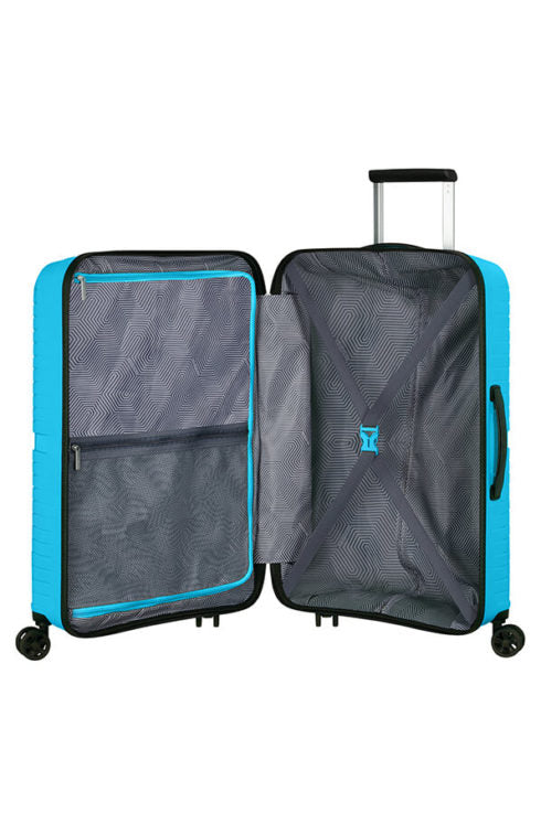 American Tourister Airconic 67cm Medium Spinner | Sporty Blue - KaryKase