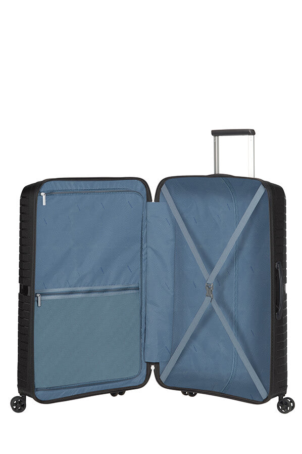 American Tourister Airconic 77cm Large Spinner | Onyx Black - KaryKase