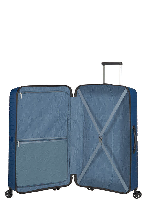 American Tourister Airconic 77cm Large Spinner | Midnight Navy - KaryKase