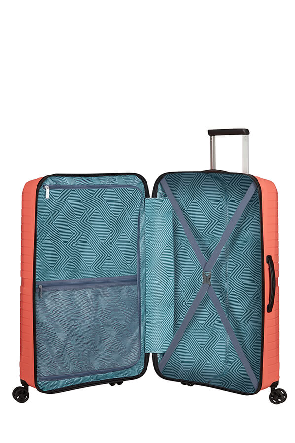 American Tourister Airconic 77cm Large Spinner | Living Coral - KaryKase