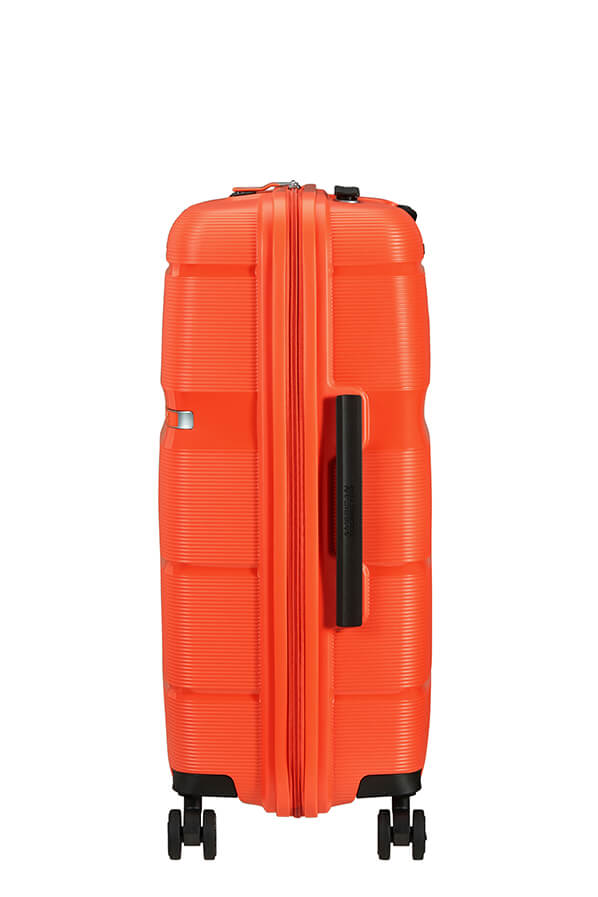 American Tourister Linex 66cm Medium Spinner | Tigerlily Orange - KaryKase