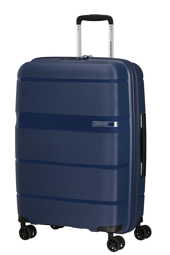 American Tourister Linex 66cm Medium Spinner | Deep Navy - KaryKase