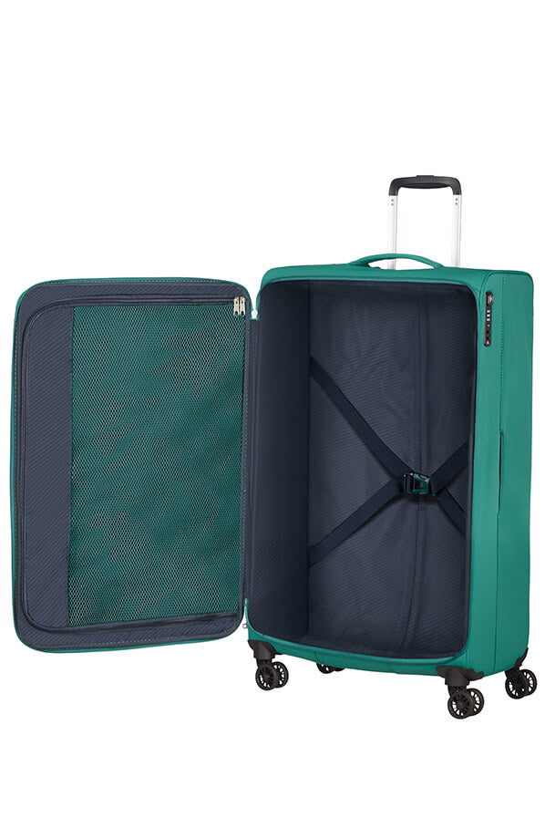 American Tourister Lite Ray 81cm Extra Large Spinner | Forest Green - KaryKase