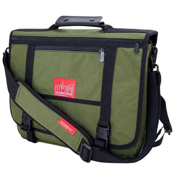 Manhattan Portage The Wallstreeter Messenger(EXP) | Olive - KaryKase