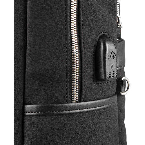 Kingsons Ivana Series 15.6″ Ladies Laptop Backpack | Black - KaryKase