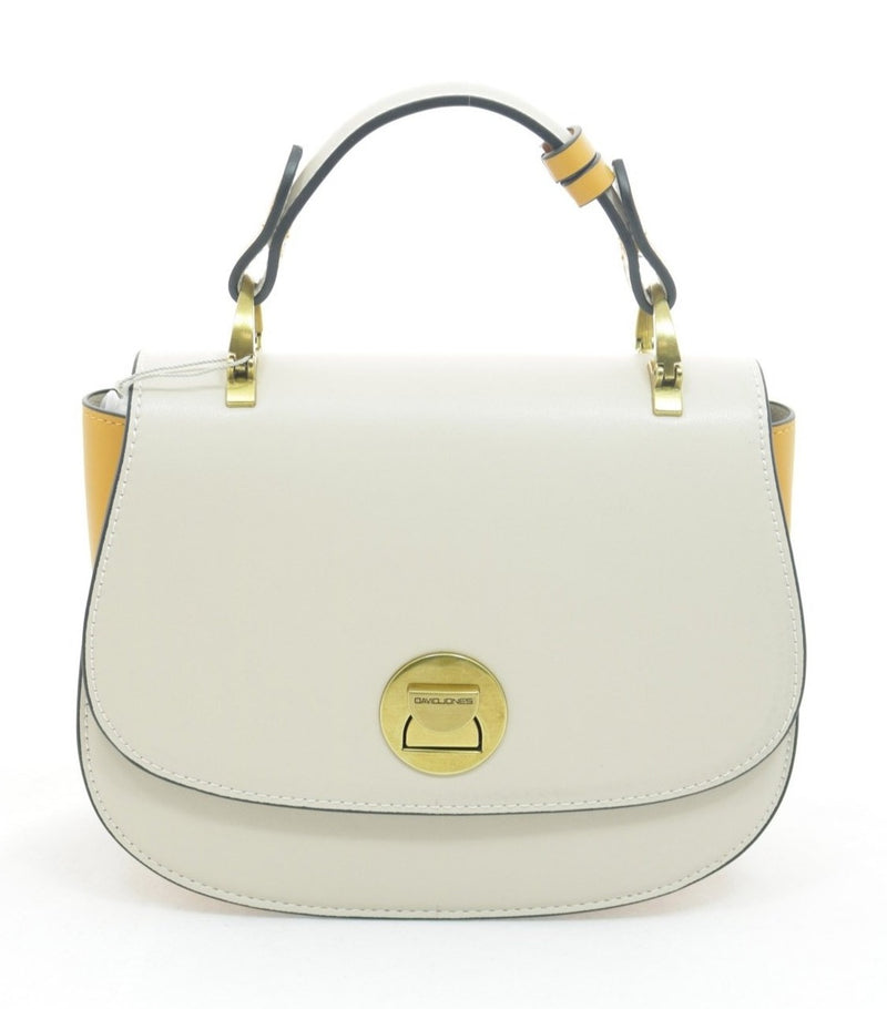 David Jones Sara Clutch Handbag | Cream - KaryKase