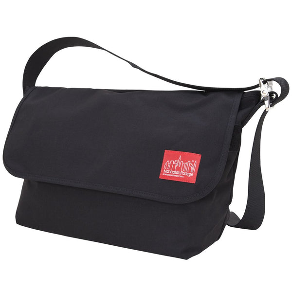 Manhattan Portage Vintage Messenger Bag (L) | Black - KaryKase