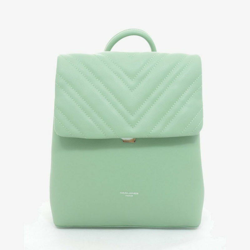 David Jones Cathy Ladies Backpack | Lime - KaryKase