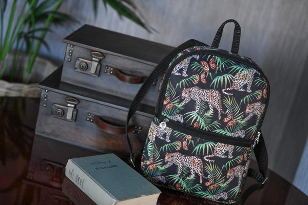 Caramia Catchmere Backpack | Safari Cat