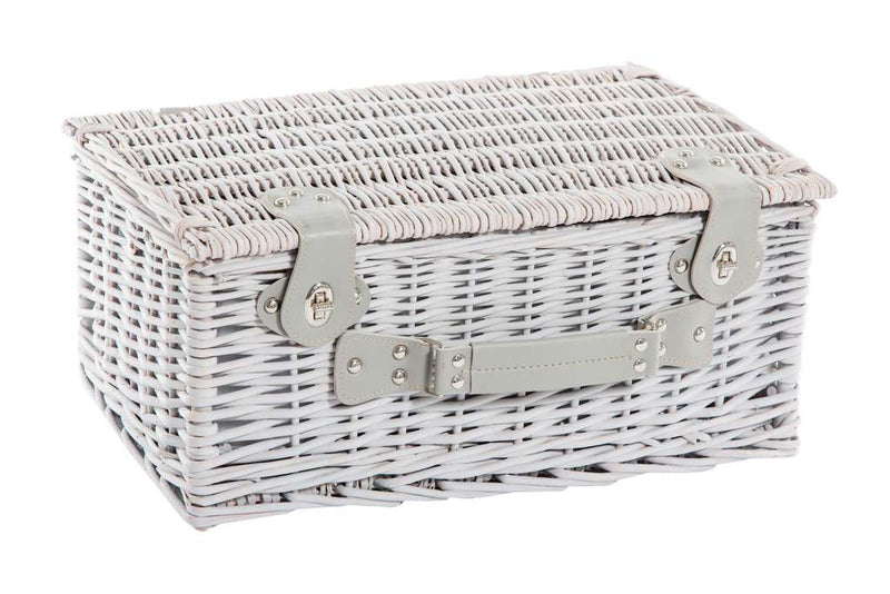 Yuppie Gift Baskets Family Feast Picnic Basket (6 persons) | Grey - KaryKase