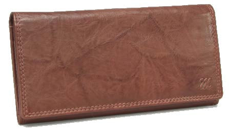 Monroe Bavaria Leather Ladies Purse | Brown - KaryKase