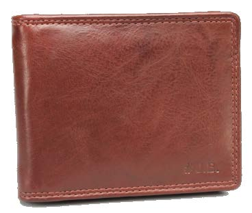 Johnny Black Bavaria Money Clip Leather Wallet - RFID | Brown - KaryKase