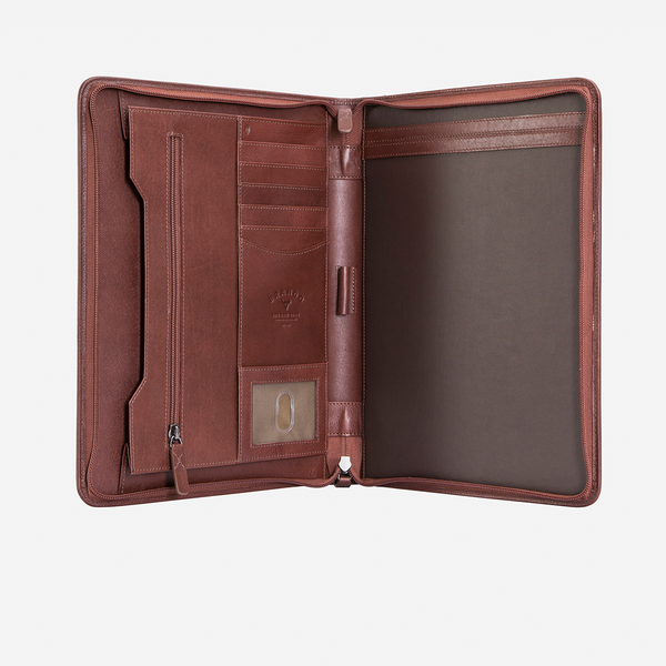 Brando Dakota  Executive A4 Folder | Brown - KaryKase